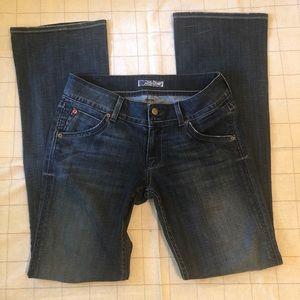 Hudson Bootcut Jeans, Size 29